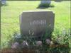 Tomb of Famous Silent Movie Actress Thelma Todd (19605-1935) Located in Section 19