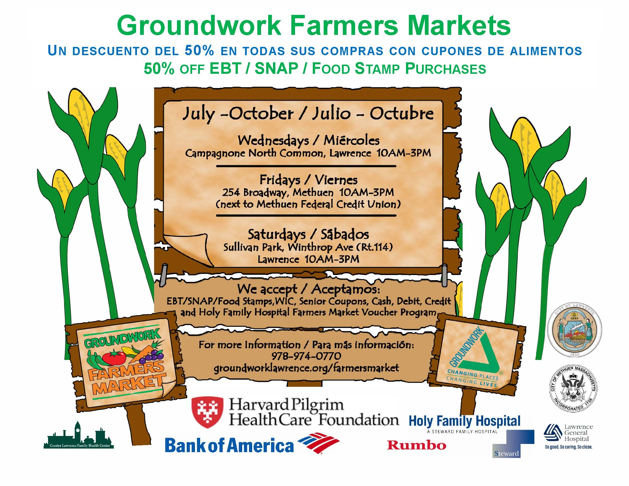 Groundwork Farmers Markets