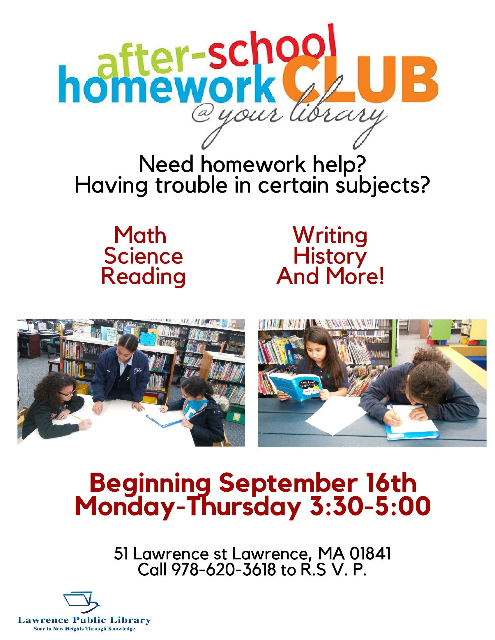 Homework Help revised 2019