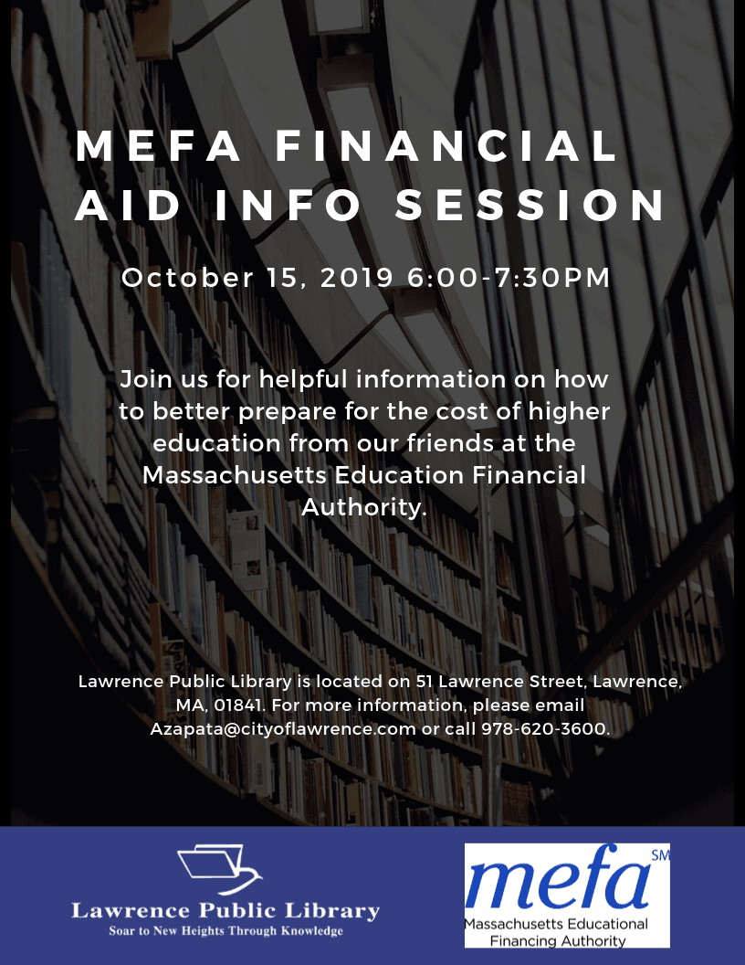_MEFA Financial Aid Information Session