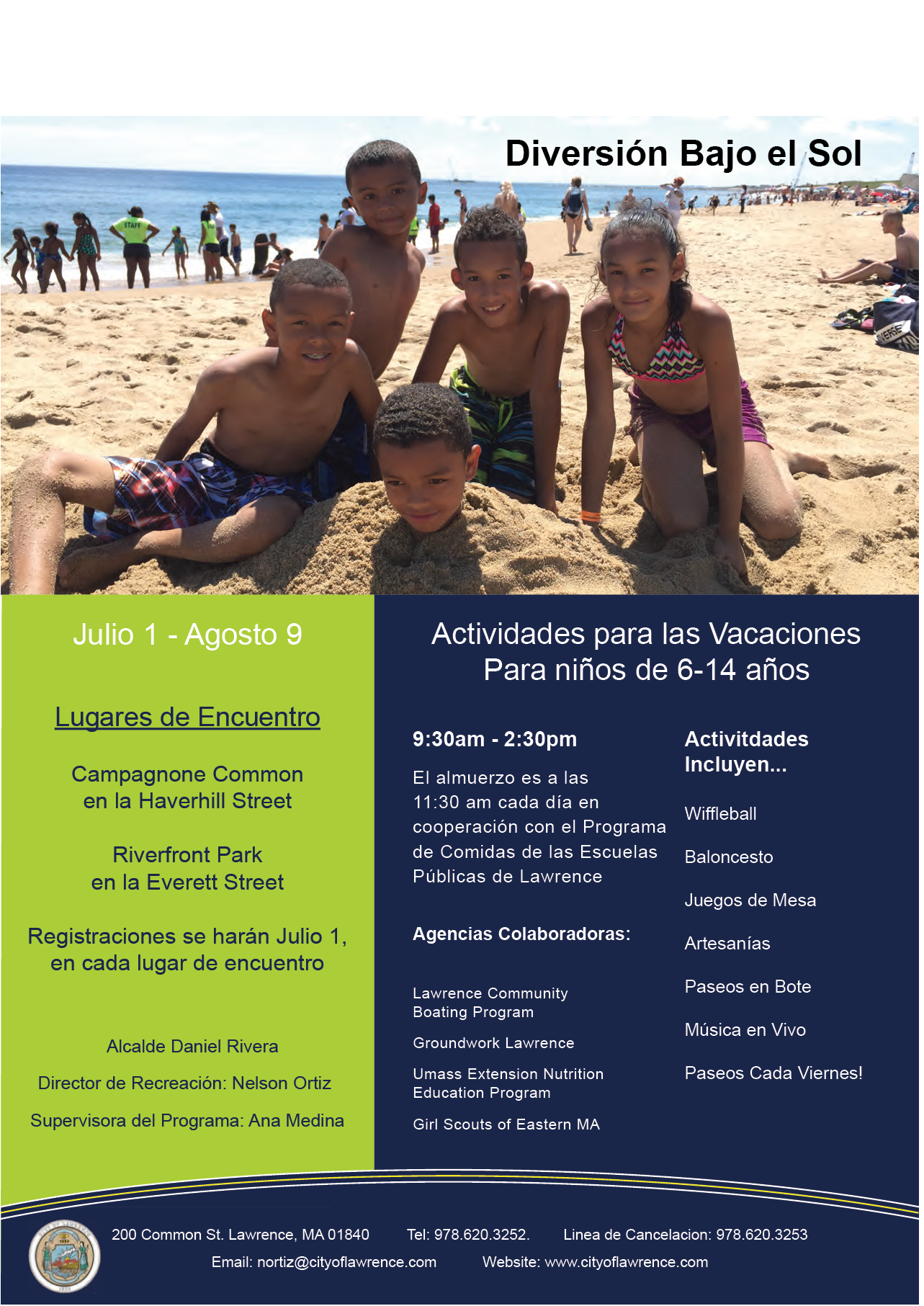 Summer Flyer Spanish 2019