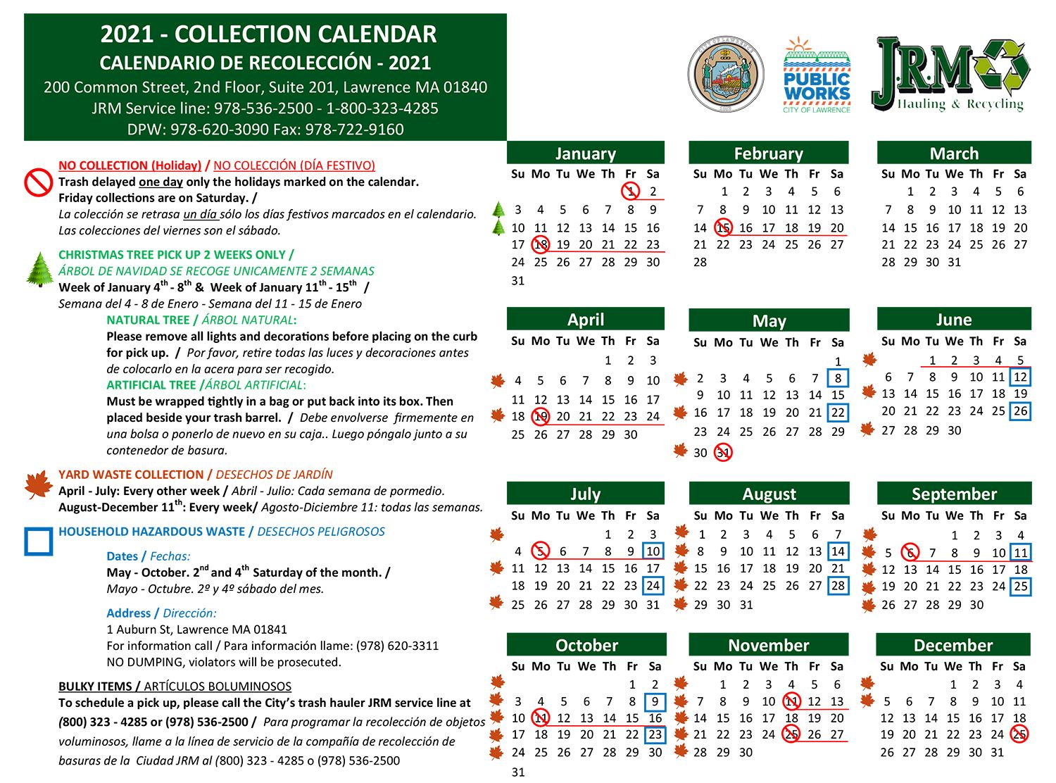 2021-COLLECTION-CALENDAR--Revised-12-3-20